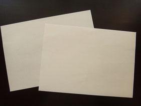 真っ白な紙をつかって色そのものを楽しんで!