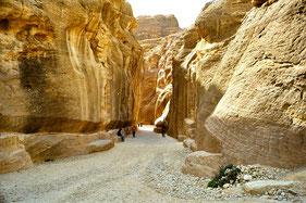 Schluchteingang nach Petra
