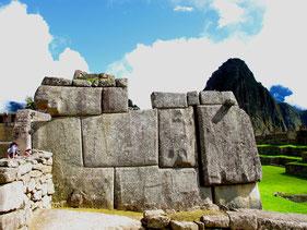 der Inka-typische Mauerverbund