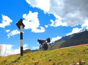ein Bike-Idyll in Peru...