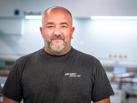 Dragan Sedlarevic, Werkstattleiter für Blechverarbeitung und Abkanten
