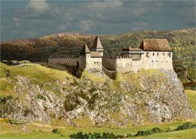 Rekonstruktion der Burg Pořešín