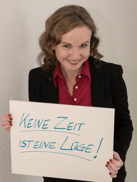 Botschaft Zeit Coach für Effizienz Sandra Rostek Bonn und Umgebung