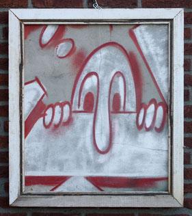 kilroy graffitipainting