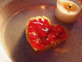 Hanni schenkte mir ihr Herz mit viel Marmelade