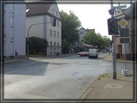 Einmündung Dessauertsr. / Ückendorfer Straße - Foto: © W. Müller