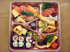 寿司割子・割子弁当