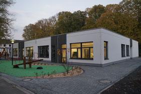 LGS Neuwied, Neubau Haus 5, Außenansicht des Gebäudes