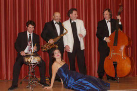 Sebastian Laverny-Quartett/ Katja Ladentin