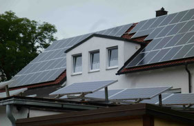 E Auto mit der eigene Photovoltaikanlage und Solarstrom aufladen