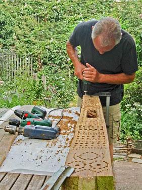 Wibinihi Wildbienennisthilfen Insektennisthilfen Insektenhotel  Reinhard Molke