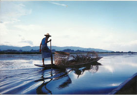 Lac Inle, Birmanie, 1998