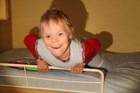 Fixdecke für Kinder mit Downsyndrom - www.fixdecken.com