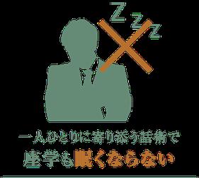 企業の座学研修で眠くなってしまった男性