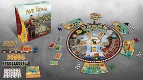 Kickstarter Brettspiele Ave Roma