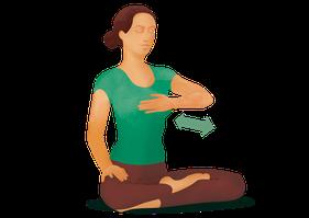 Yogi Tea Asana: Einfache Atemübung zum Entspannen