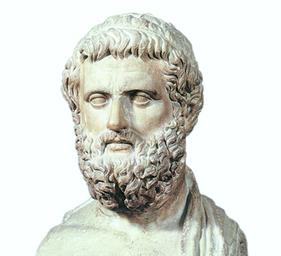 Busto marmoreo di Solone