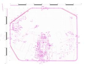 Abb.10: Konstruktion der nicht zum Raster parallelen Lagerseiten.