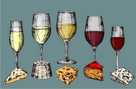 kaas en wijn combinaties