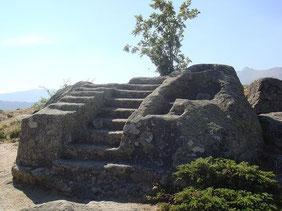 Altar de sacrificios en Ulaca (Ávila)