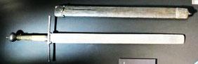 das Richtschwert hängt heute im historischen Museum in Frauenfeld