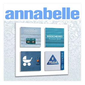 """Presseveröffentlichung """"annabelle 06/13"""" Spendenaktion für Tansania"""