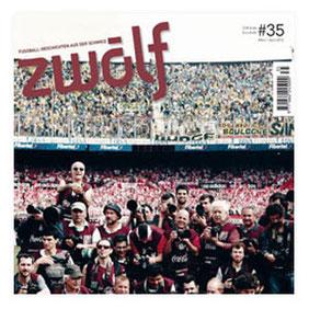 """Presseveröffentlichung """"ZWÖLF, Fussballgeschichten aus der Schweiz vom März/April 2013"""" von Silvan Lerch"""