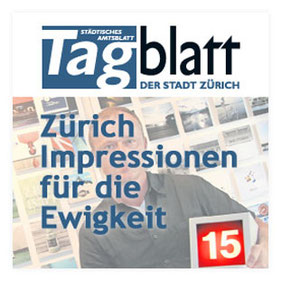 """Presseveröffentlichung """"Tagblatt 08/16"""" über Licht-Spiel-Haus von Ginger Hebel"""