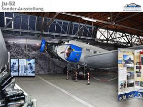 Sonder-Ausstellung im Flieger Flab Museum: «JU-AIR 1982 – 2018» und «Rettungsaktion am Gauligletscher 1946»