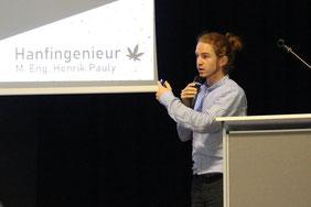 Henrik Pauly Vortrag Podium Grüne