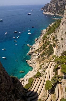 Capri: La Via Krupp