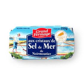 フランス産発酵バター セル・ドゥ・メール250g