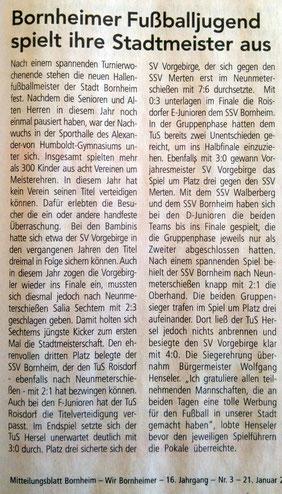 21.01.2017 - Wir Bornheimer