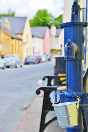 アイルランド - 田舎 - 街並み - 井戸