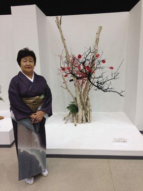 岡崎華道連盟60周年