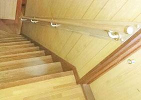 階段の手すり設置 リフォーム後