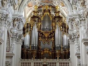 Größte Domorgel der Welt, Dom St. Stephan, Passau