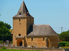 Iglesia lannecaube Vic-Bilh Madiran