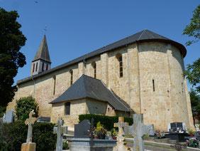 Iglesia Saint-Jean-Poudge Vic-Bilh Madiran