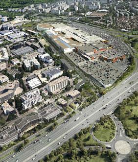 Projet Extension Commerce - Westfield Vélizy 2 - © Cabinet d'architecture L35 ARQUITECTOS.