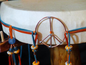 Lightning drums from Thunder Valley Drums and Shaman Drums and More