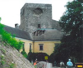 Sturmschaden durch das Unwetter vom 23. auf 24. Juni 2003