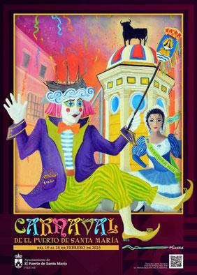 Cartel del Carnaval de El Puerto de Santa María 2017