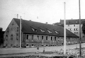 dudweiler, saarbruecken, bergbau, schlafhaus, notkirche, fischbachstrasse