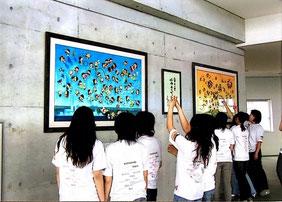 高松大学35周年記念企画「池原昭治童絵展」開催。
