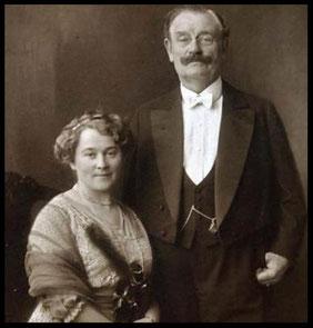 Nikolaus Dürkopp und seine zweite Frau Emilie