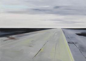 Matthieu van Riel Schilderijen. Zonder titel 100x140cm olie op canvas 2012