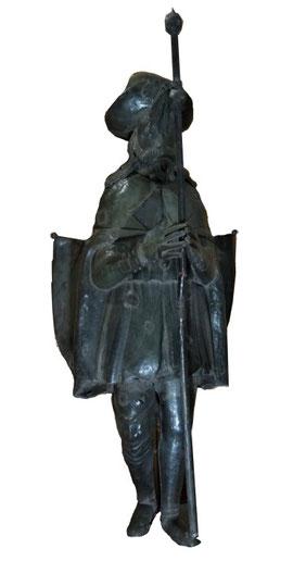 La Statua di San Rocco come si presenta oggi.