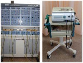 おおつか接骨院の電気治療器