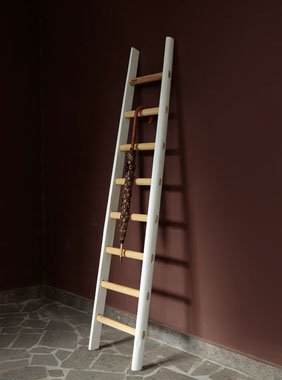 Scala in legno porta asciugamani - Ladder decor home